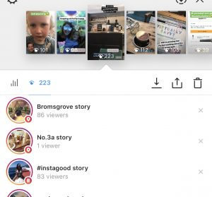 Instagram Stories using Geotags and Hashtags is a great way to increase reach